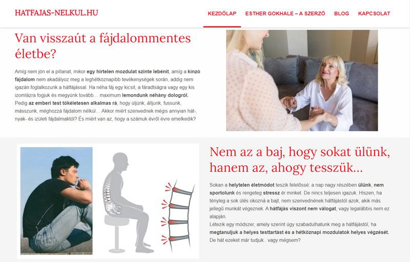 Weboldalkészítés - Websiker Weboldal Csomaggal - hatfajas-nelkul.hu