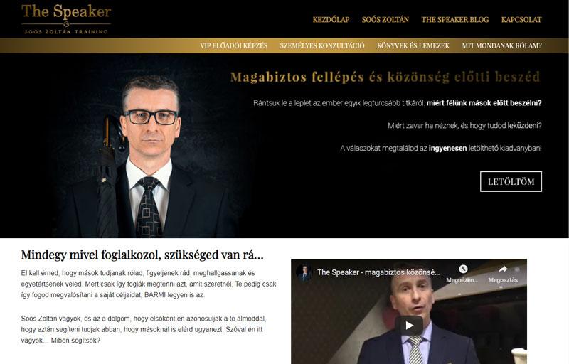 Weboldalkészítés - Websiker Weboldal Csomaggal - Soós Zoltán