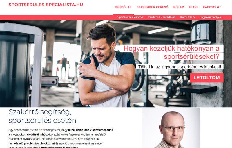 Weboldalkészítés - Websiker Weboldal Csomaggal - sportserules-specialista.hu