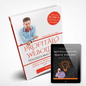Temesvári Richárd két sikerkönyve a weboldalkészítést tervező vállalkozóknak