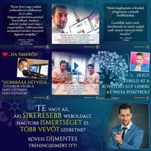 A Websiker Mentor Instagram oldala